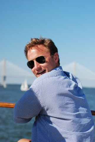 Wedding Parties on the water in Charleston